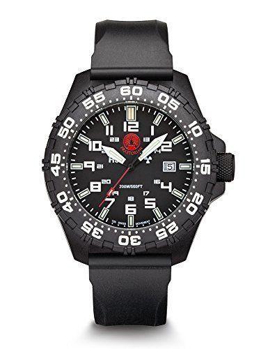 Praetorian SOCOM Black - Silikon Armband - H3 Tritium Uhr - Trigalight - http://on-line-kaufen.de/praetorian/praetorian-socom-black-silikon-armband-h3-uhr