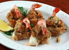 Ritz crackers, a Pantry Special (Recipe: baked stuffed shrimp) [ThePerfectPantry.com]