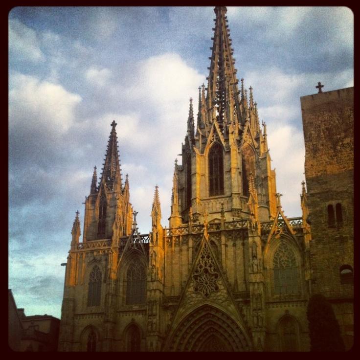 Catedral de Barcelona. 2013