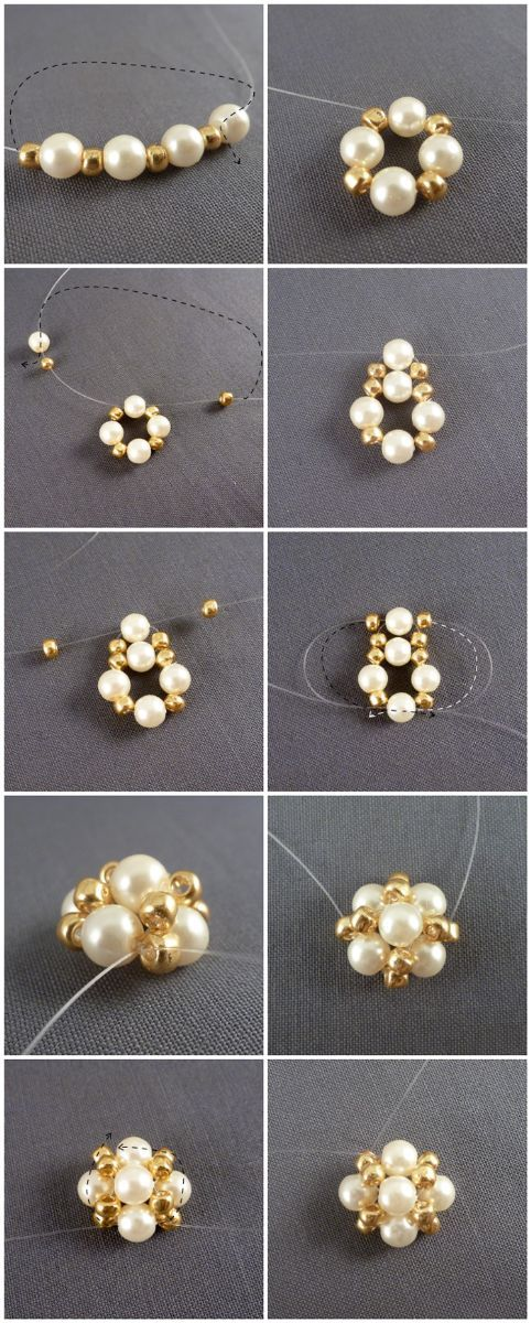 make earrings studs out of pearls – Pandahall