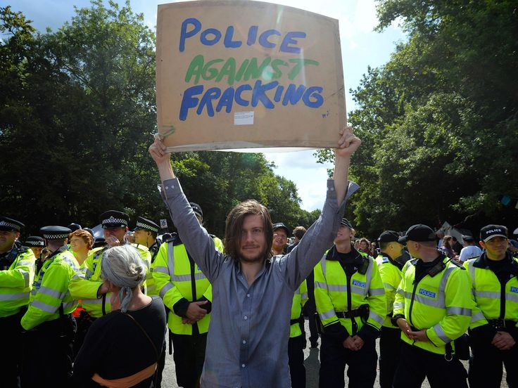 Protests leave fracking firms struggling to get money from UK banks http://www.independent.co.uk/environment/fracking-firms-uk-bank-investing-raise-money-protests-environment-a7841636.html?utm_campaign=crowdfire&utm_content=crowdfire&utm_medium=social&utm_source=pinterest