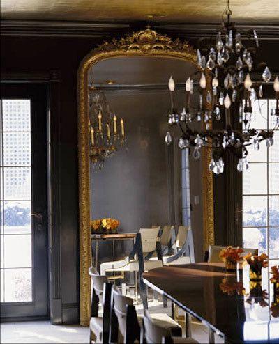 Dining room - mirror