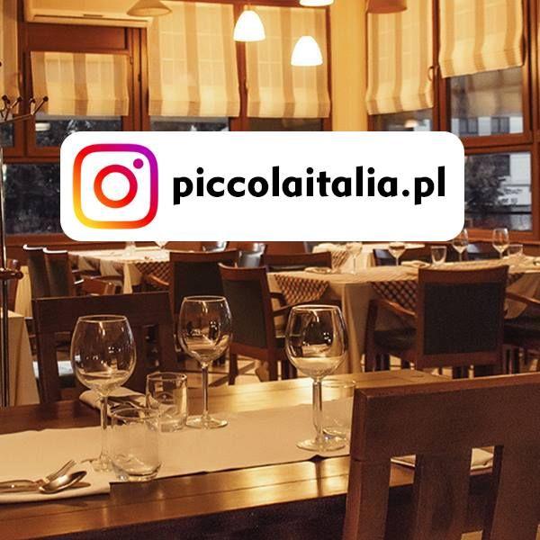 Przyznajcie Sie Kto Jeszcze Nie Slyszal Ze Mozna Nas Znalezc Rowniez Na Instagramie Https Instagram Italia Restaurant Italian Restaurant Italian Dishes