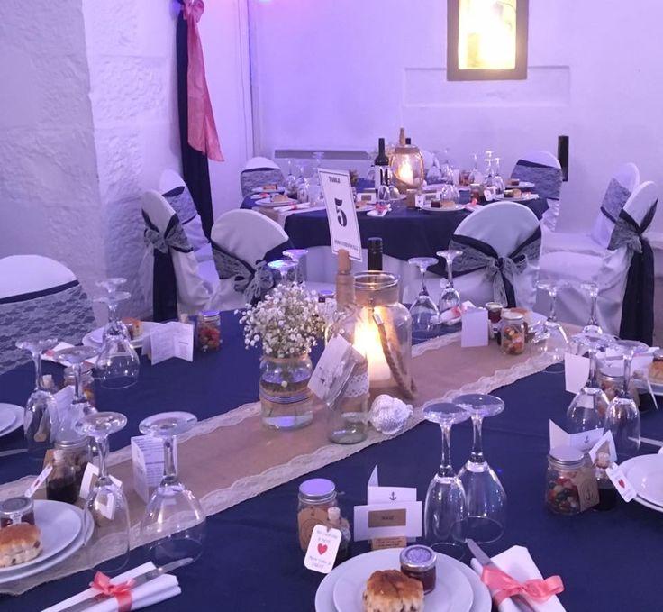 Nautical style wedding