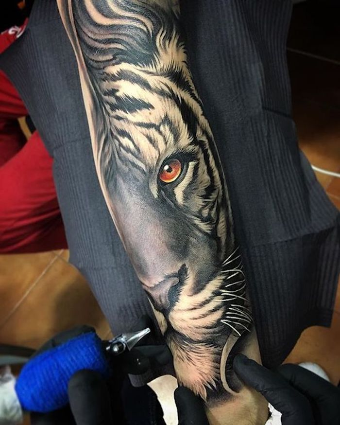 ▷ 1001 ultra coole Tiger Tattoo Ideen zur Inspiration – Tanja Kowalsky