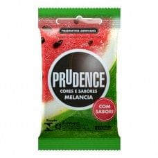 Preservativo Prudence Melancia - Hot Pepper Sex Shop