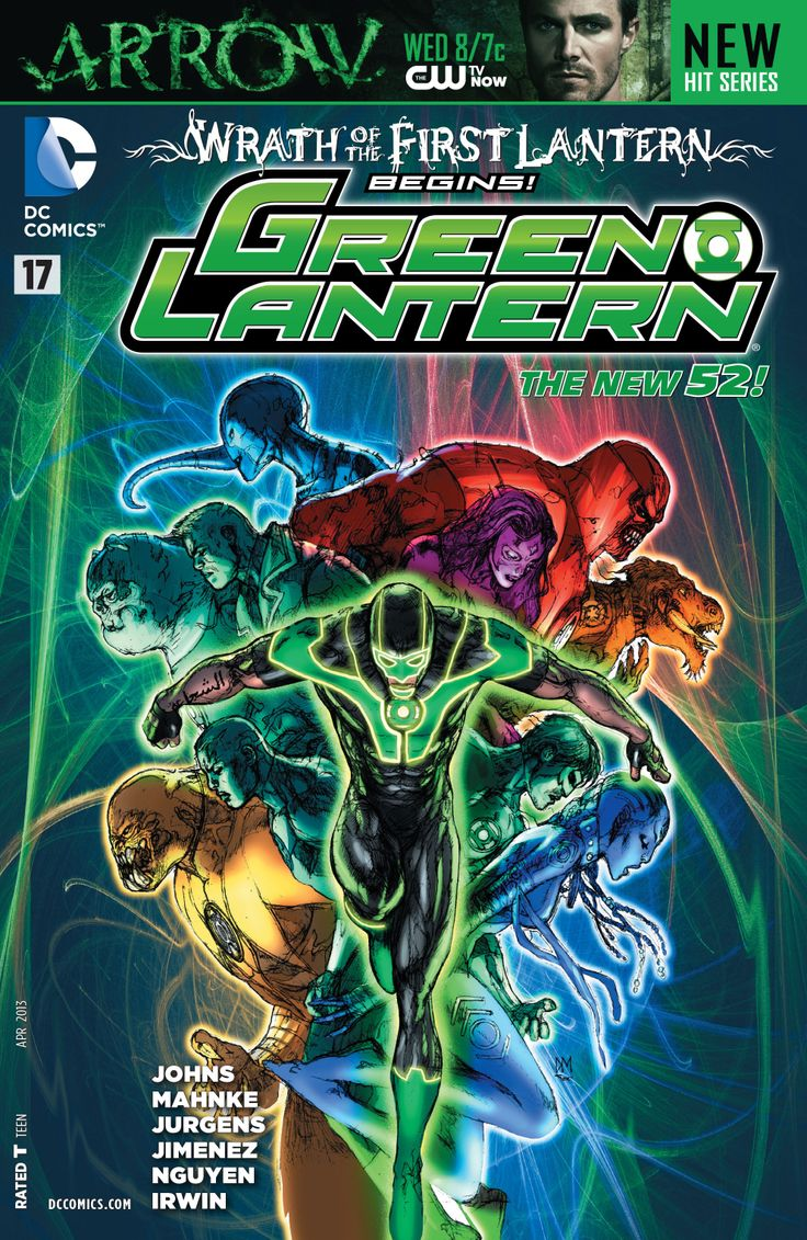 50 best dc - green lantern comic book covers images on pinterest