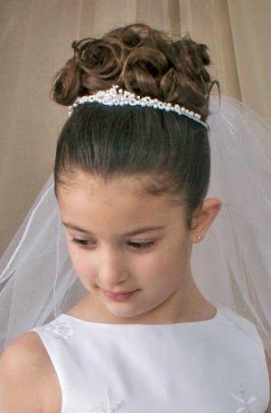 Resultado de imagen para peinados de niñas para fiesta