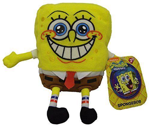 Spongebob Squarepants Spongebob Plush Toy NWT @ niftywarehouse.com #NiftyWarehouse #Spongebob #SpongebobSquarepants #Cartoon #TV #Show