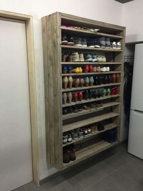 meuble-chaussures-realisation-palette - L'atelier agité