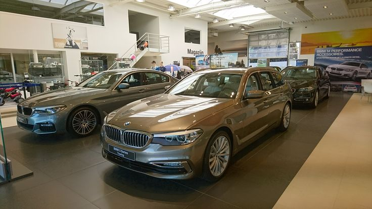 New BMW 5 series Touring 520d