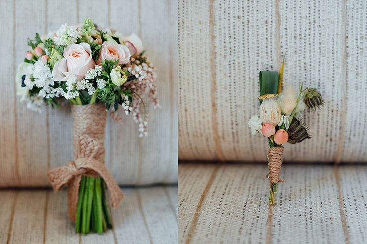 Beautiful wedding bouquet with roses and wild flowers    İstanbul düğün fotoğrafçısı düğün çiçeği (by Vesaire) gül ve kır çiçekleri buket ve yaka çiçeği by Mertör Photography