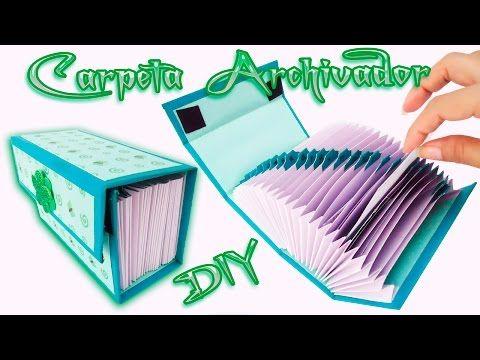Carpeta organizadora scrapbook Diy - Craft   Manualidades