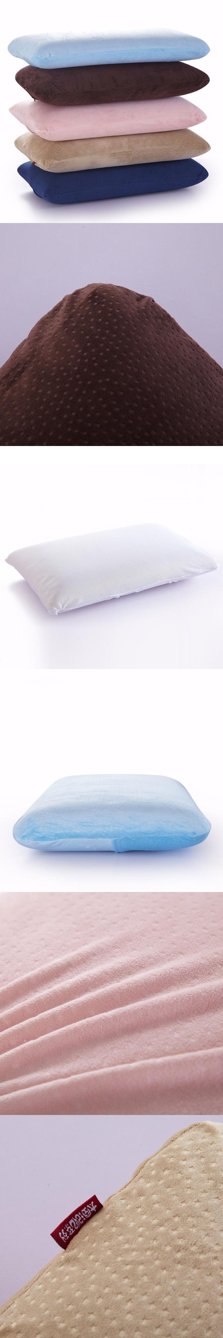 Breathable Comfort Memory Foam Pillow With Case For Kids Adults Sleeping  Quality Bed Pillows Bed Rest