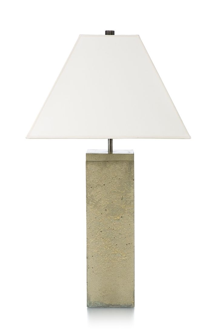78 best lighting images on pinterest table lamps concrete and custom made citadel table lamp geotapseo Gallery