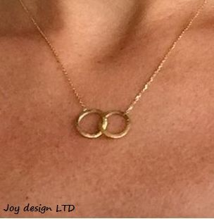Together necklace sterling silver  with rosegold, Joytag. NOK 749.-  www.smykkeboden.no