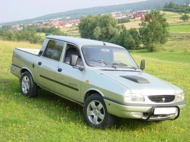 Dacia Pick-up 2004-2006. #Dacia #Car #Pickup