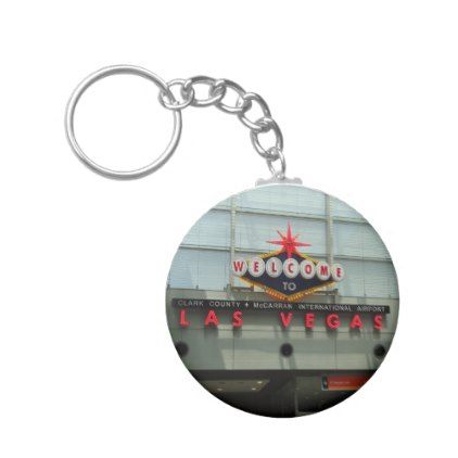 Welcome to Las Vegas Airport Sign Keychain - accessories accessory gift idea stylish unique custom