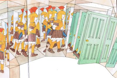 """Pictures from an Old Book: """"MR BENN - GLADIATOR"""" By David McKee (published by..."""