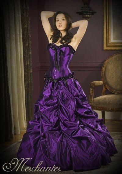 deep purple wedding theme | ... basics of Gothic fashion to find the ...