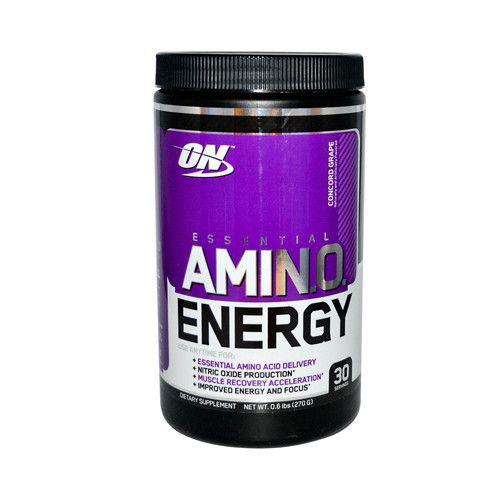 Optimum Nutrition Essential Amino Energy Concord Grape (1x0.6 Lbs)