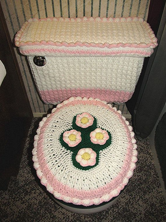 173 Best Images About Crochet For Bathrooms On Pinterest