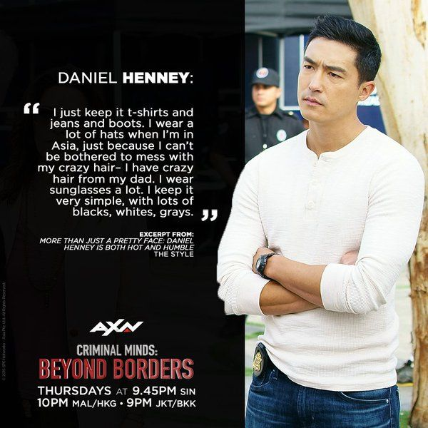Daniel Henney - Criminal Minds Beyond Borders