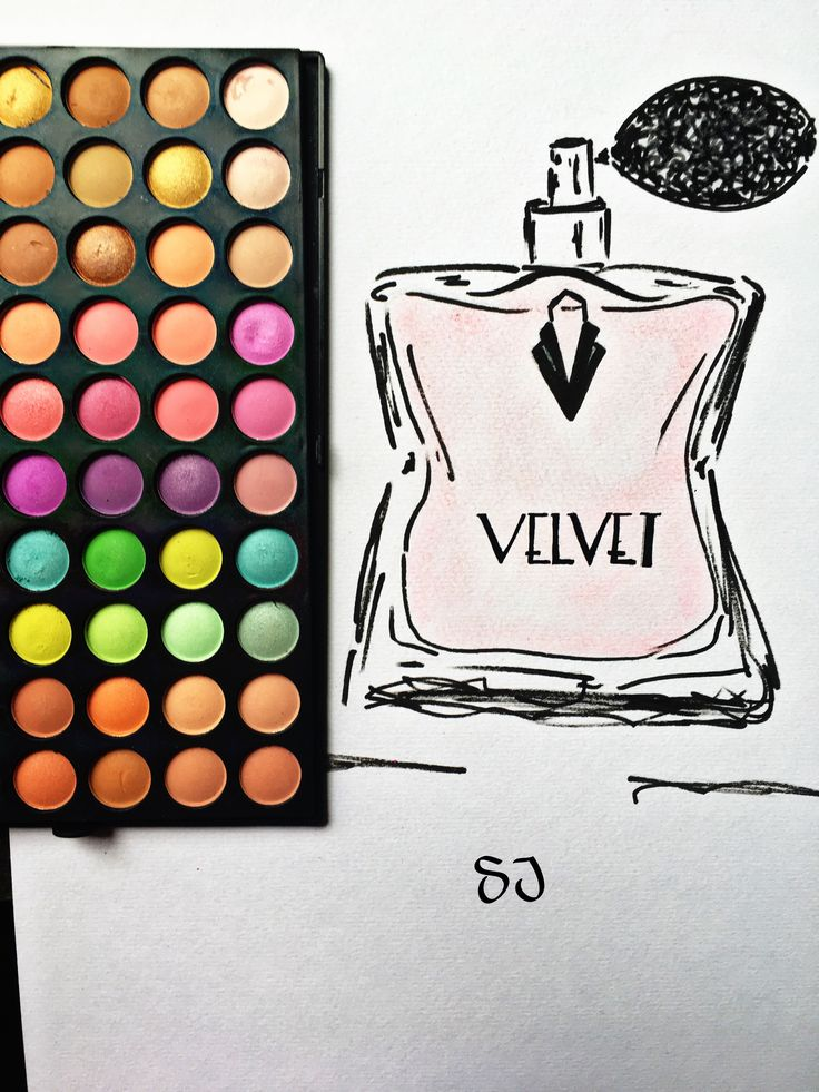 #velvet #luxury #parfum #fashionsketch