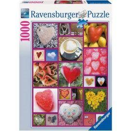 Szivecskék, Ravensburger Puzzle 1000 db
