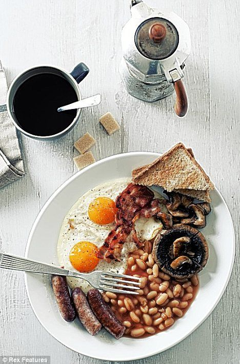 And of course the Full English Breakfast – in all its glory. Whatever combination you have; sausage, black pudding, bacon, beans, tomato, mushrooms, or toast, it's a substantial offering.  The full English breakfast is a centuries old British tradition which dates back to the early 1800s, when the Victorians first perfected the art of eating breakfast and elevated the most important meal of the day into an art form.