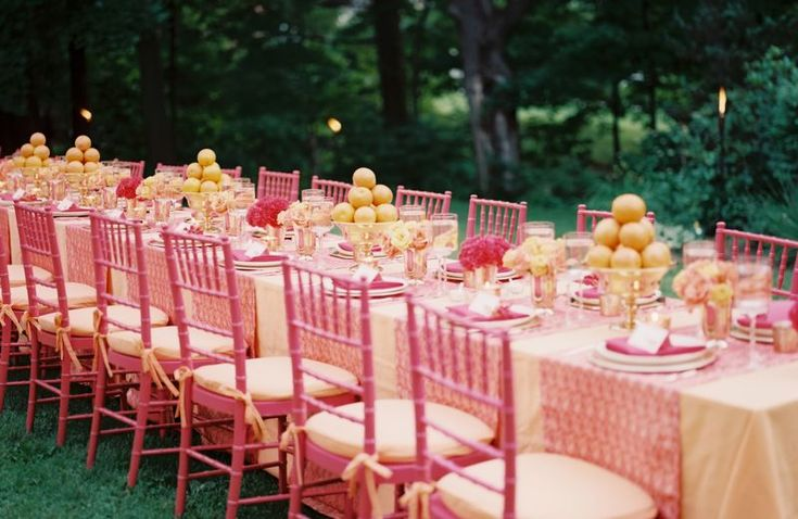 25 Best Ideas About Pink Table Settings On Pinterest