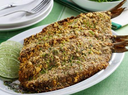 Sardinha Crocante Assada - Veja mais em: http://www.cybercook.com.br/receita-de-sardinha-crocante-assada.html?codigo=17117