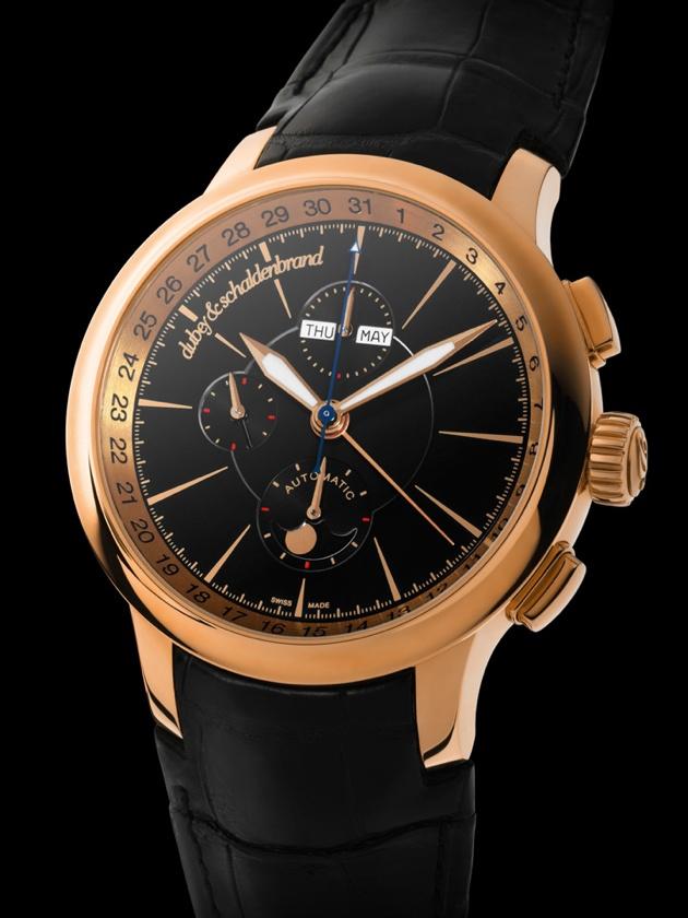 A Dubey & Schaldenbrand Chronometre in solid 18k gold.