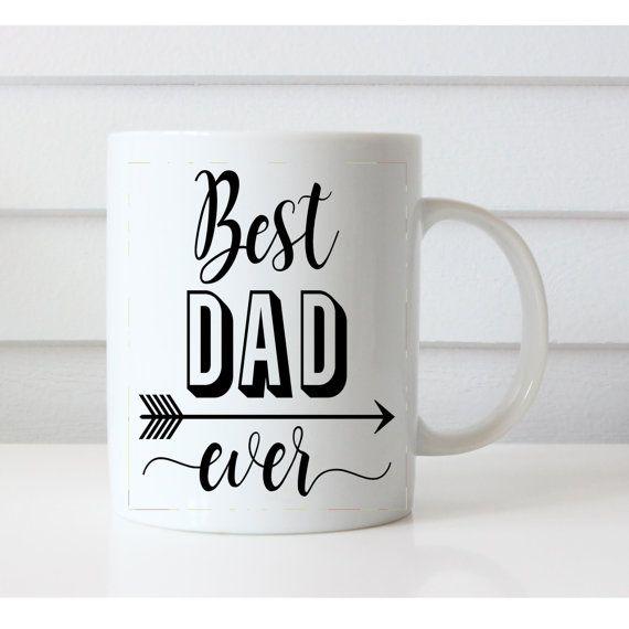 Best dad ever Mug dad gift Best dad coffee by NoteWorthyStationery