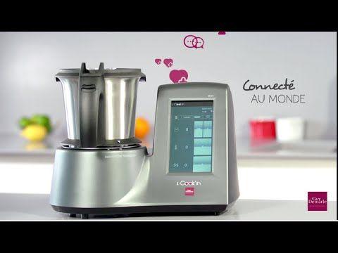 i-Cook'in, le robot chauffant multifonctions connecté de Guy Demarle - YouTube