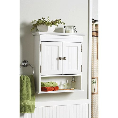 bathroom walls on white cottage style bathroom wall cabinet storage shelf super cute and bright bathroom ive always loved plants in bathrooms - Bathroom Cabinets Walmart