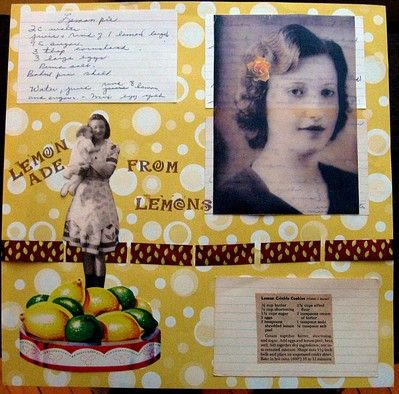 Scrapbook Recipes...A special way to create cookbooks from old family recipes or your favorites.