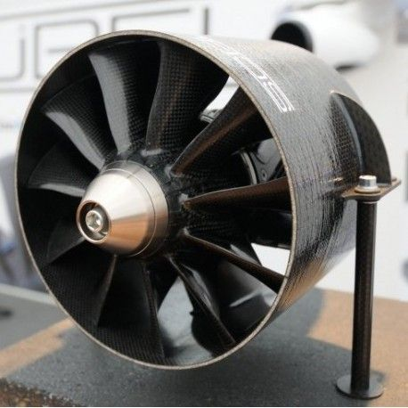 Schubeler Ds 215 Dia Hst 195mm Carbon Edf Ducted Fan