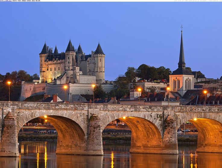 Image detail for -Saumur Castle, Loire Valley, France - Beautiful photos and wallpapers