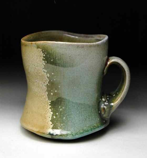 Stoneware mug by Christopher Melia from the Barrett Clay 2nd Annual National Cup Show