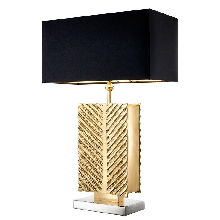 Настольная лампа Matignon 110148 Eichholtz · Black Table LampsGold ... - 99 Best Eichholtz Images On Pinterest Table Lamp, Lamp Table And