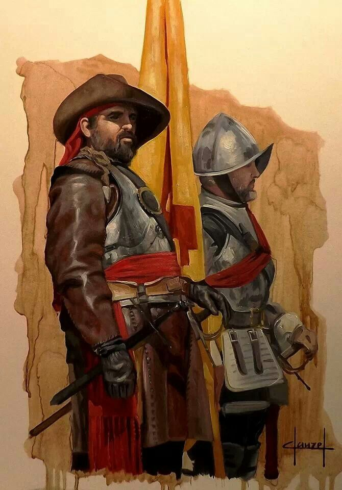 Soldados de los Tercios Españoles.