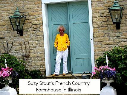 Designer Suzy Stout's French Country Farmhouse Illinois
