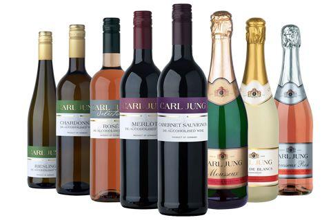 Řada nealko vín Carl Jung