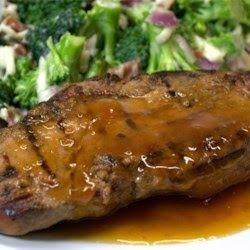 GERMAN PORK ROAST Boston Beanery Restaurant Recipe 1 (3 lb.) rolled pork loin roast, boneless 2-3 cups beer 1 cup chopped o...