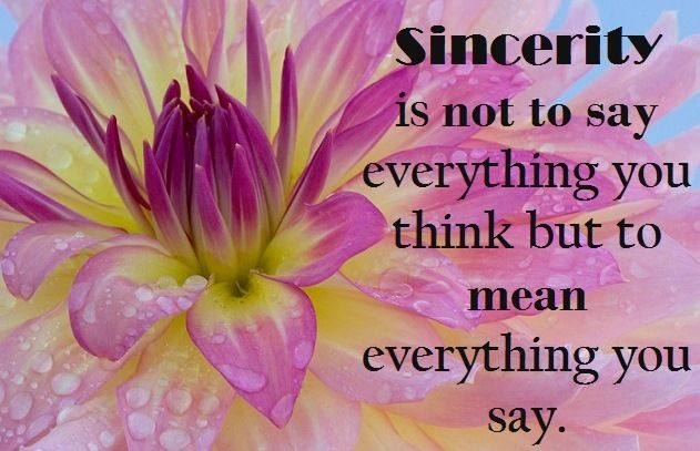 Sincerity Quotes