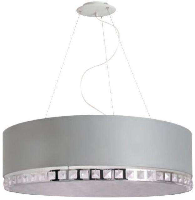 CRYSTAL SHADE  Szare nie znaczy nudne! #kryształowa #lampa #HESMO