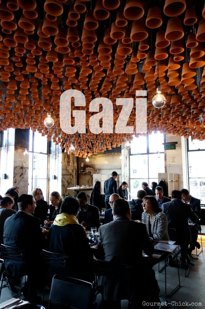 Gazi- George Calombaris's Greek Streetstyle Food Restaurant Melbourne (formerly know as the Press Club)
