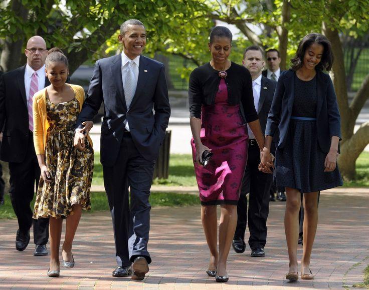 President Obama & First Family.....The Washington Post