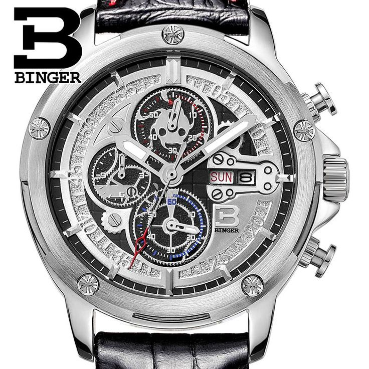 Switzerland men's watch luxury brand Wristwatches BINGER Quartz watch leather strap Chronograph Diver glowwatch B6009-3   Tag a friend who would love this!   FREE Shipping Worldwide   Get it here ---> https://shoppingafter.com/products/switzerland-mens-watch-luxury-brand-wristwatches-binger-quartz-watch-leather-strap-chronograph-diver-glowwatch-b6009-3/